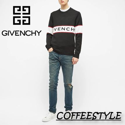 GIVENCHY Sweaters Logo Luxury Sweaters 6