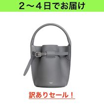 CELINE Big Bag Calfskin 2WAY Plain Elegant Style Shoulder Bags