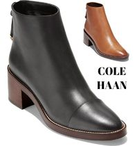 Cole Haan Plain Leather Boots Boots