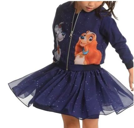 Blended Fabrics Collaboration Co-ord Kids Girl Outerwear