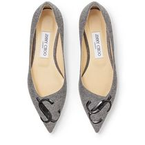 Jimmy Choo Casual Style Office Style Elegant Style Slip-On Shoes