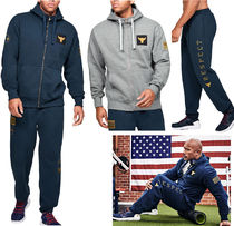 UNDER ARMOUR Blended Fabrics Street Style Collaboration Oversized
