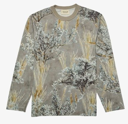 FEAR OF GOD Long Sleeve Camouflage Street Style Long Sleeves Cotton 2