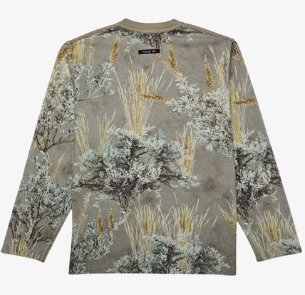 FEAR OF GOD Long Sleeve Camouflage Street Style Long Sleeves Cotton 3
