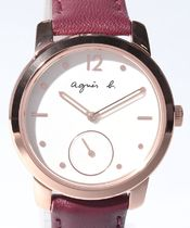 Agnes b Casual Style Party Style Special Edition Digital Watches