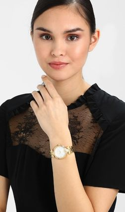 Casual Style Round Party Style Quartz Watches Office Style