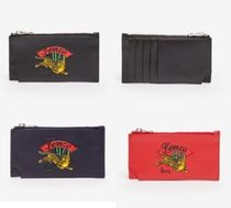 KENZO Leather Coin Cases