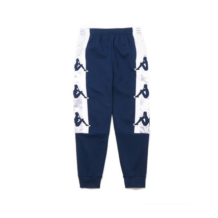 Printed Pants Blended Fabrics Street Style Plain Cotton Logo
