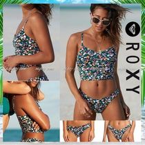 ROXY Flower Patterns Brazilian Bikinis