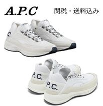 A.P.C. Street Style Plain Low-Top Sneakers
