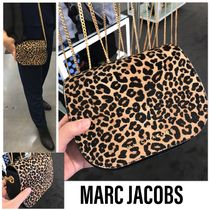 MARC JACOBS Leopard Patterns Spawn Skin 2WAY Elegant Style Crossbody