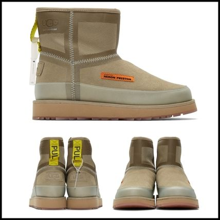 Casual Style Suede Office Style Boots Boots