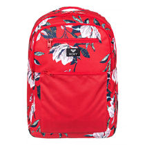 ROXY Flower Patterns Dots Casual Style A4 Backpacks