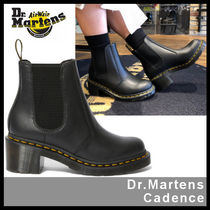 Dr Martens Platform Casual Style Street Style Leather Boots Boots