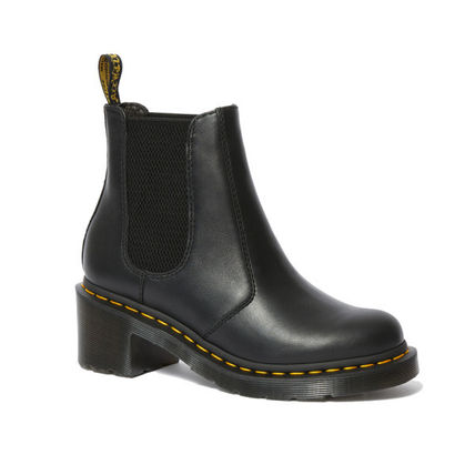 Platform Casual Style Street Style Leather Boots Boots