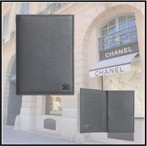 CHANEL 2020 CRUISE PASSPORT CASE gray more wallets & cases