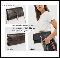 ASOS 2WAY Plain Party Style Office Style Elegant Style Clutches