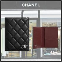CHANEL 2020 CRUISE CLASSIC PASSPORT CASE black more wallets & cases
