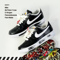 Nike AIR FORCE 1 Flower Patterns Unisex Street Style Collaboration Leather