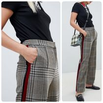 ASOS Other Plaid Patterns Casual Style Long Pants