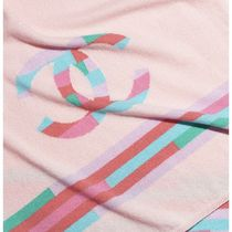 CHANEL 2020 CRUISE STOLE pink more scarves & shawls