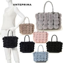 ANTEPRIMA Casual Style Plain Party Style Elegant Style Totes