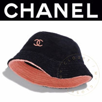 CHANEL ICON Street Style Handmade Bucket Hats Keychains & Bag Charms