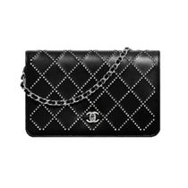 CHANEL 2020 CRUISE CHAIN WALLET black more wallets & cases