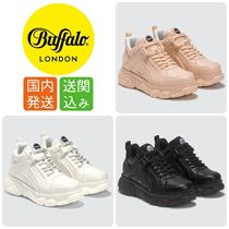 Buffalo LONDON Platform Rubber Sole Casual Style Street Style Plain