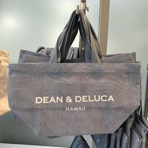DEAN&DELUCA Casual Style Unisex Plain Totes