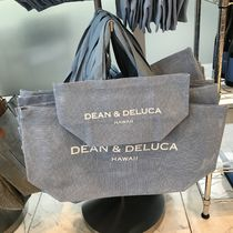 DEAN&DELUCA Tropical Patterns Casual Style Unisex Street Style Plain