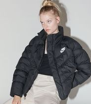 Nike Casual Style Street Style Plain Medium Jackets