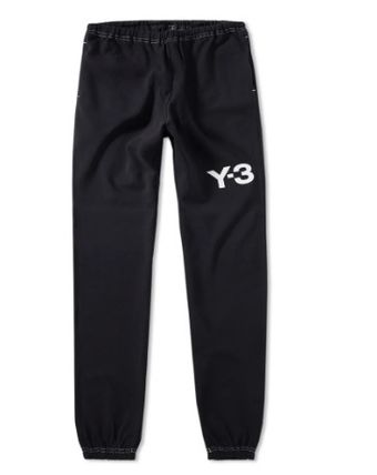 Y-3 Casual Style Unisex Street Style Plain Cotton Bottoms