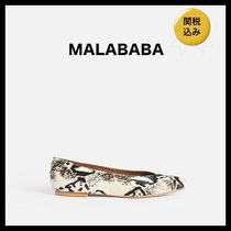 Malababa Leather Flats
