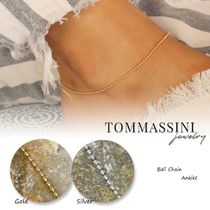 TOMMASSINI JEWELRY Casual Style Chain Party Style Silver 14K Gold Elegant Style