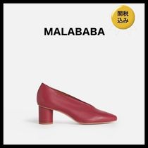 Malababa Plain Leather Pumps & Mules