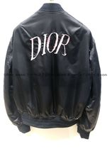 Christian Dior Short Plain MA-1 Bomber Jackets
