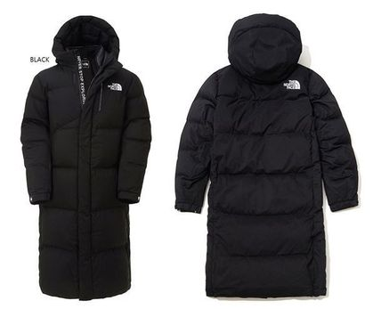 THE NORTH FACE SUPER AIR DOWN Unisex Street Style Long Logo Down Jackets