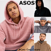 ASOS Pullovers Long Sleeves Plain Hoodies