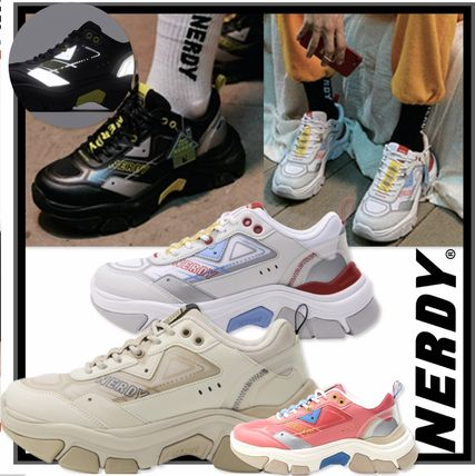 Casual Style Unisex Street Style Low-Top Sneakers