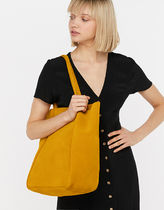 Accessorize Casual Style Suede Plain Office Style Elegant Style Totes