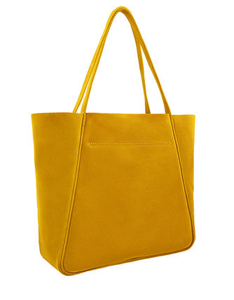 Casual Style Suede Plain Office Style Elegant Style Totes