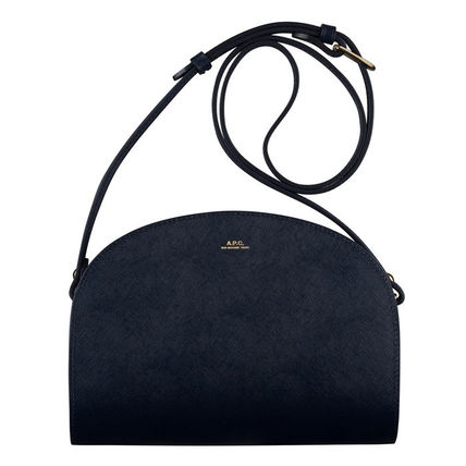 Street Style Leather Shoulder Bags