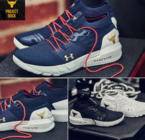 UNDER ARMOUR Blended Fabrics Street Style Collaboration Sneakers