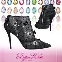 Roger Vivier Other Check Patterns Flower Patterns Zigzag Casual Style