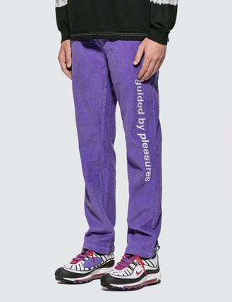 Corduroy Plain Pants