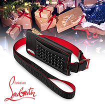 Christian Louboutin Studded Street Style Leather Smart Phone Cases