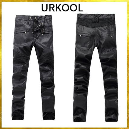 URKOOL More Jeans Faux Fur Jeans