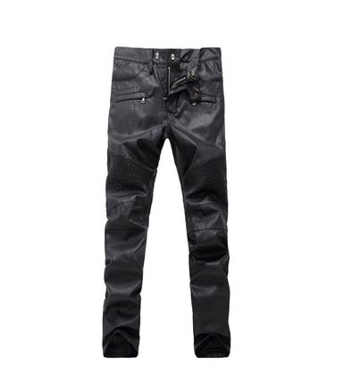 URKOOL More Jeans Faux Fur Jeans 2