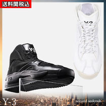 Y-3 Platform Plain Toe Rubber Sole Casual Style Blended Fabrics